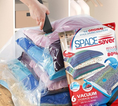 SpaceSaver Jumbo Vacuum Storage Bags (6-Pack)
