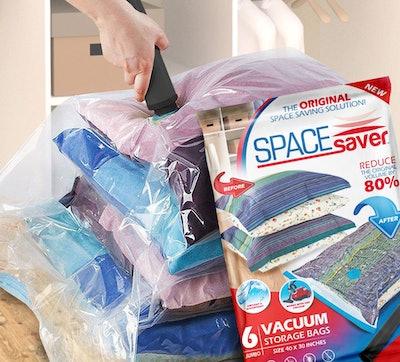 SpaceSaver Jumbo Vacuum Storage Bags (6-Pack)