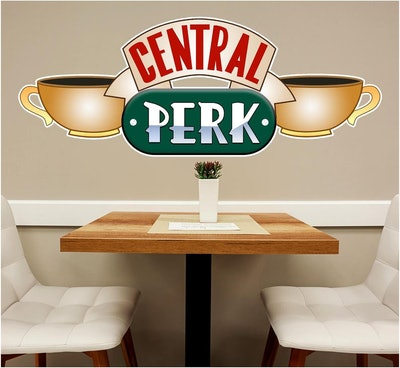 Central Perk #1 Wall Decal