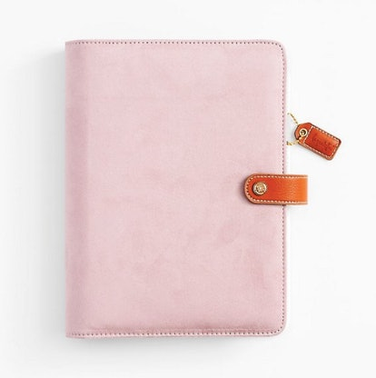 2020 Large Lilac Suede Planner