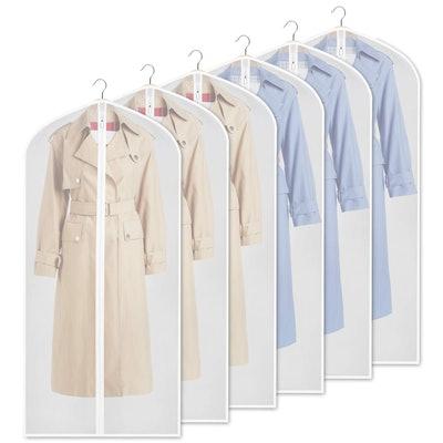 Zilink Clear Garment Bags (6-Pack)