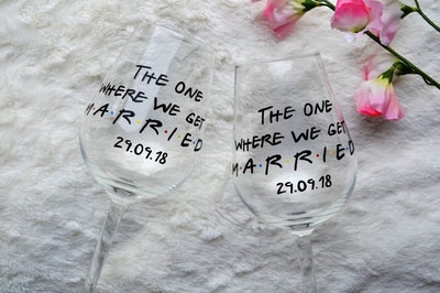 Wedding Day Glasses