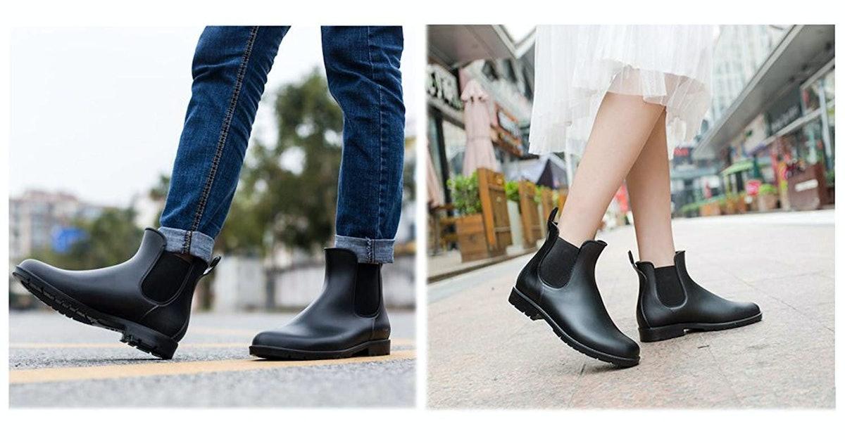 5 Stylish Rain Boots That Look Like Shoes