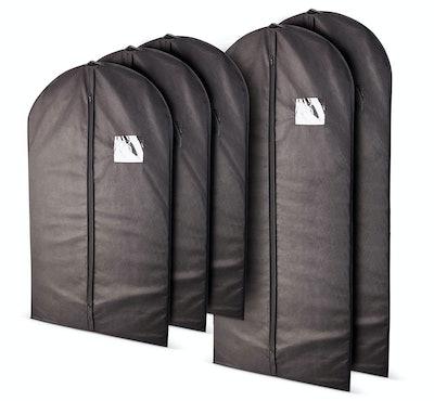 Plixio Garment Bags, Mixed Sizes (5-Pack)
