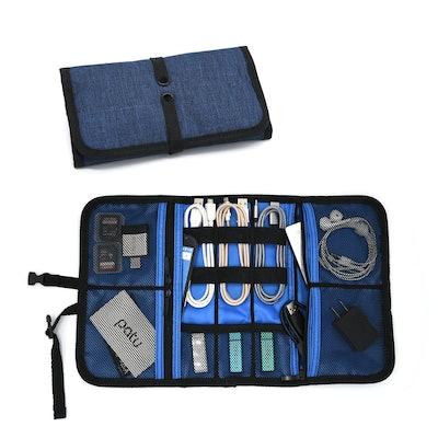 Patu Roll Up Electronics Accessories Organizer Case