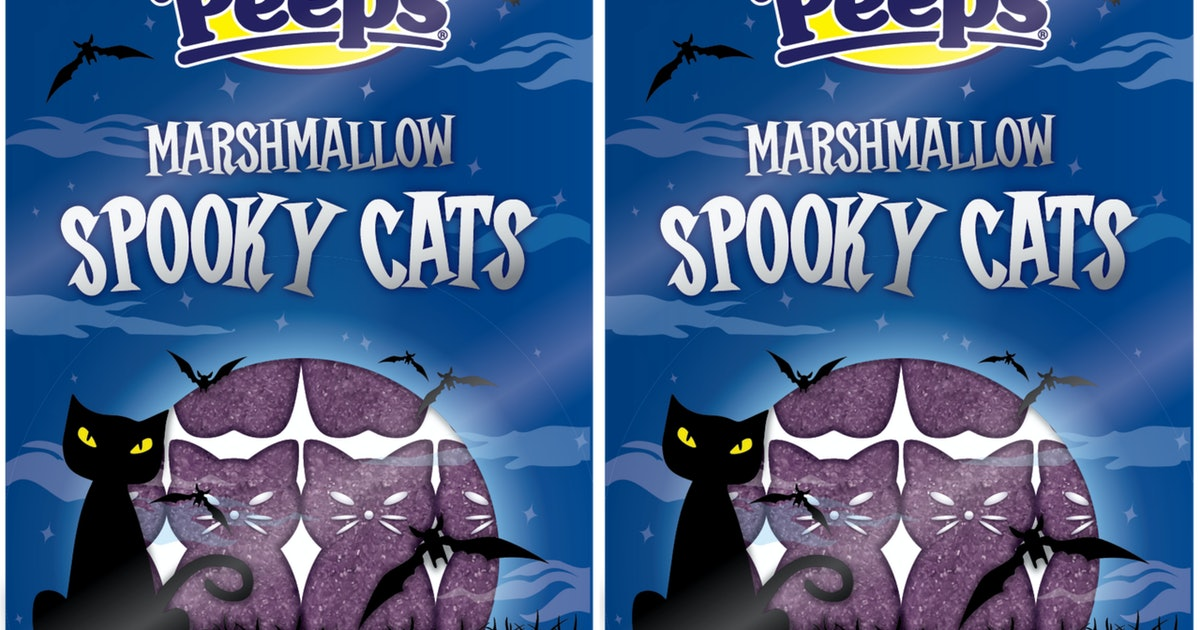 Peeps' Halloween Lineup For 2019 Include Spooky Cats, Pumpkins, And More