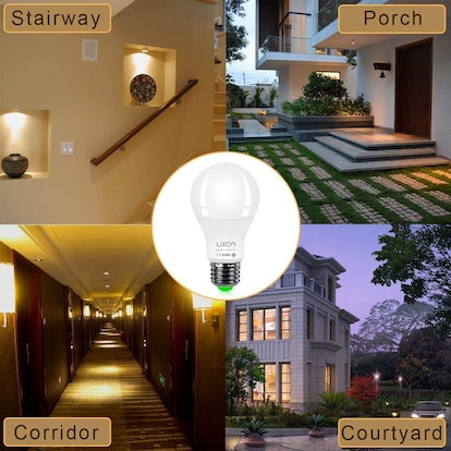 LUXON Motion Sensor Light Bulb