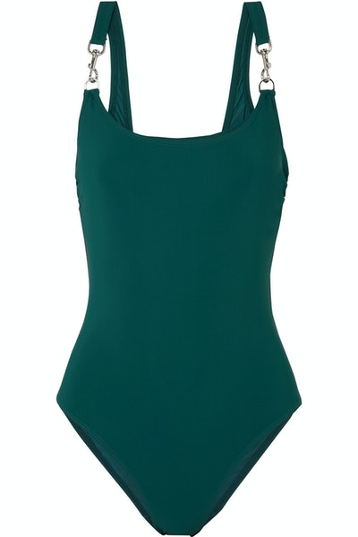 Clip Tank Swimsuit