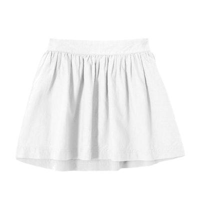 The Reversible Poplin Skirt