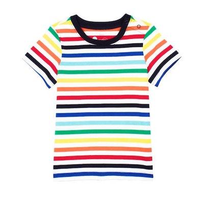 The Baby Rainbow Stripe Tee