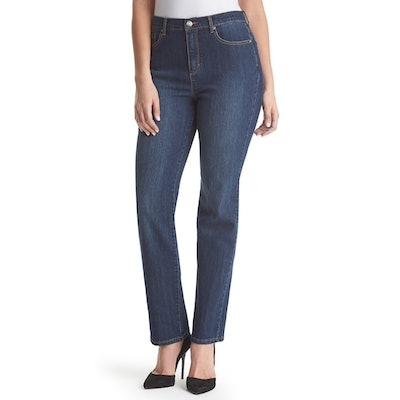 Gloria Vanderbilt Amanda Classic High Waisted Tapered Jeans