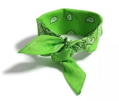Green Hair Bandana