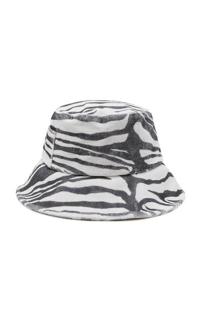 Zebra Terry Bucket Hat