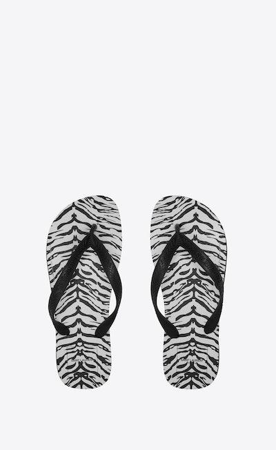 Women's Havaianas Zebra-Printed Flip Flops