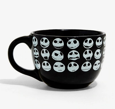 The Nightmare Before Christmas Jack's Faces Soup Mug