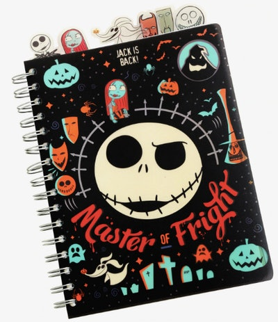 The Nightmare Before Christmas Master Of Fright With Tabs Journal