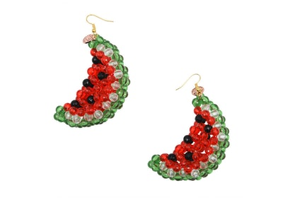 Watermelon Icey Earrings