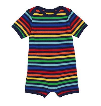 The Rainbow Stripe Baby Shortie