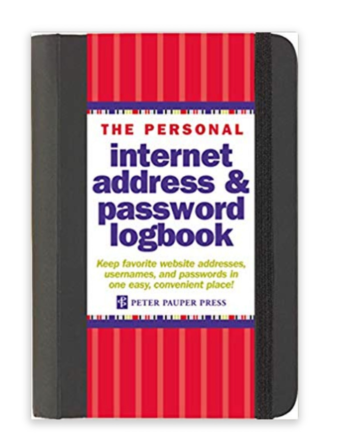 Peter Pauper Press Password Log Book