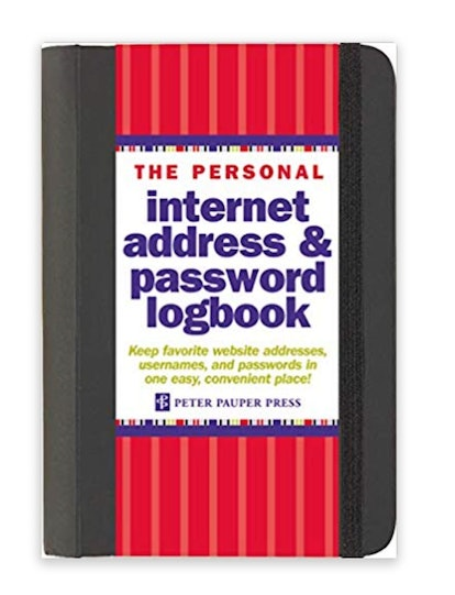 Peter Pauper Press Password Log Book
