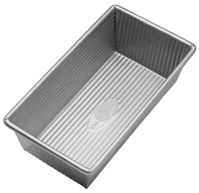 USA Pan Bakeware Aluminized Steel Loaf Pan, 4.5 x 3 Inch