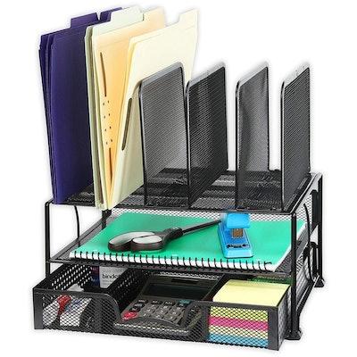 SimpleHousewares Mesh Desk Organizer