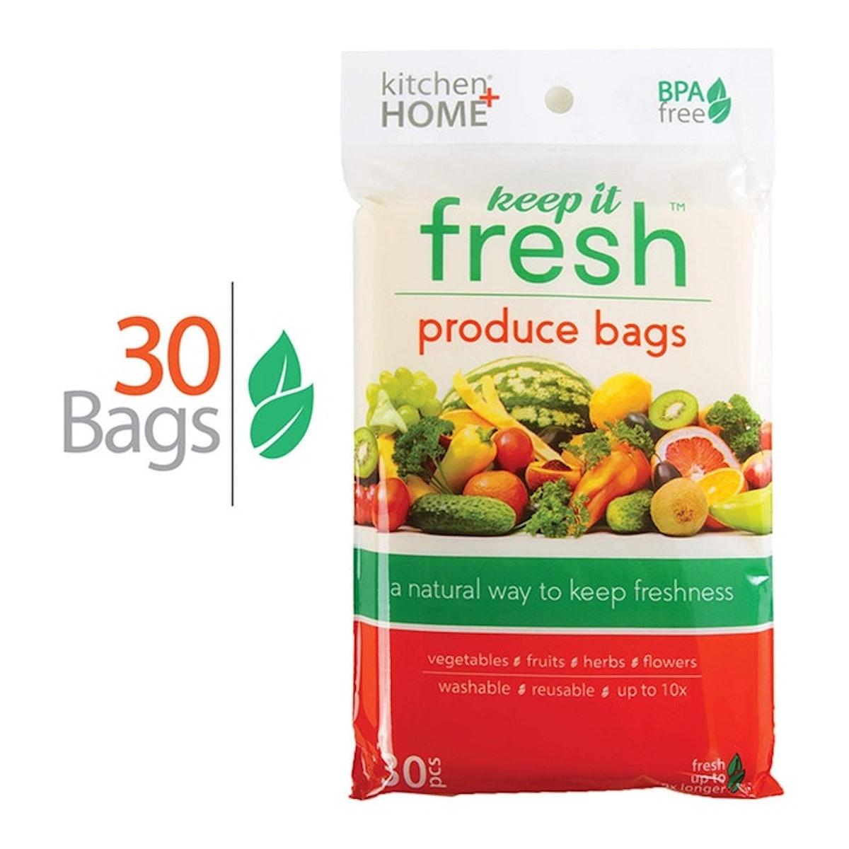 Keep It Fresh Produce Bags