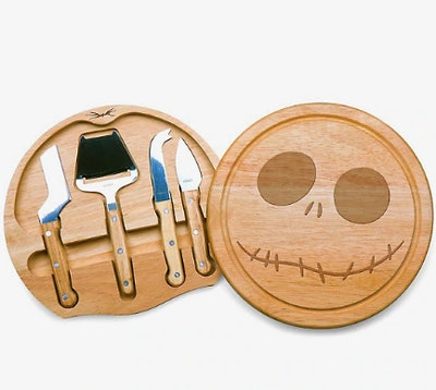 The Nightmare Before Christmas Jack Cheese Board & Tools Set