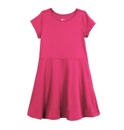 The Short Sleeve Twirly Dress