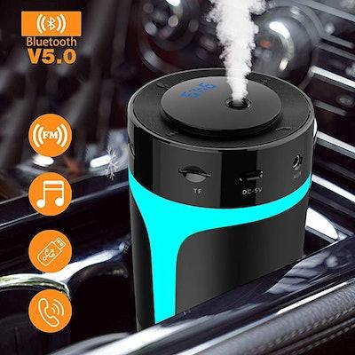 Wobrikosee Bluetooth FM Transmitter & Car Humidifier
