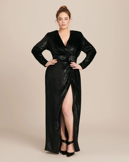 Wrap Gown