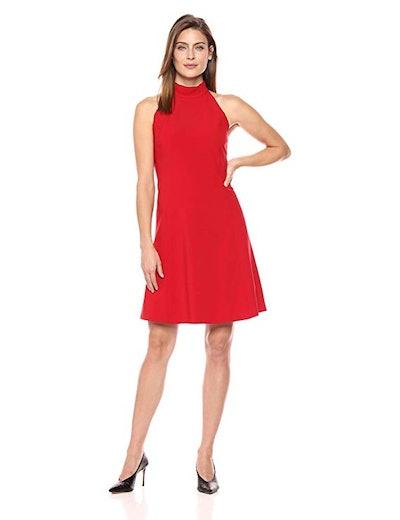 Lark & Ro Sleeveless Fit And Flare Dress