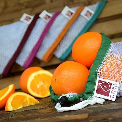 Naturally Sensible Eco-Friendly Reusable Produce Bags (Set of 5)