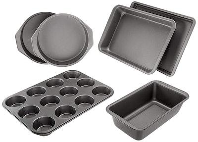 AmazonBasics 6-Piece Nonstick Baking Set