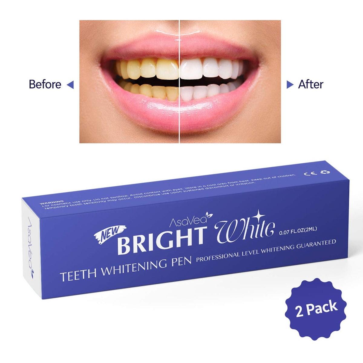 AsaVea Teeth Whitening Pen (2 Pack)
