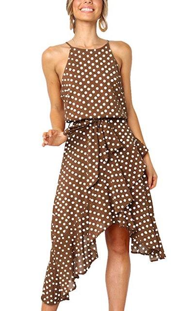 ECOWISH Midi Dress