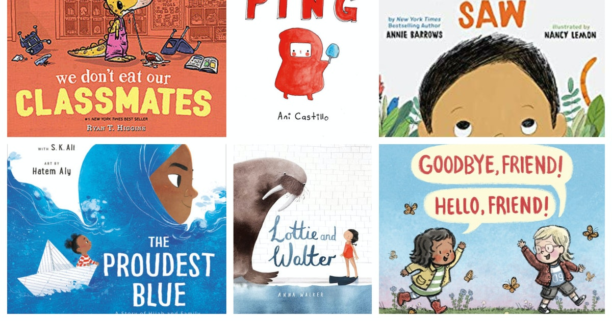 12 Back-To-School Picture Books That Will Get Kids Excited