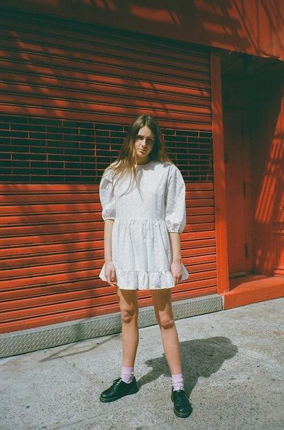 Bader Eyelet Dress