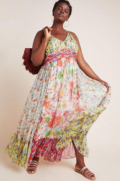 Malibu Floral Maxi Dress Plus Size