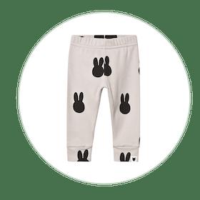 Grey Miffy Print Leggings