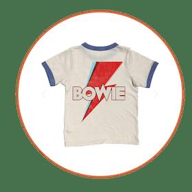 David Bowie Vintage Wash Ringer Tee