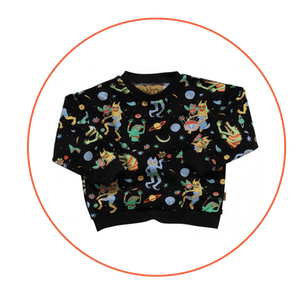 Space Boogie Sweater