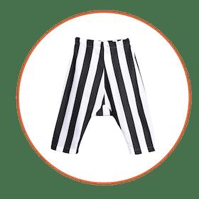 Alvaro Trousers, White Stripes