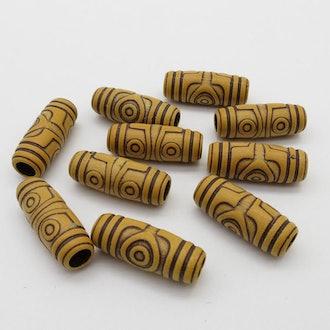 Wooden Hair Beads