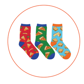 A Little Cheesy Socks