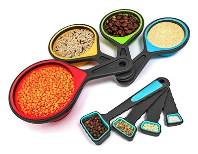 Best To Business Collapsible Measuring Cups And Spoons Set