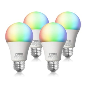 Peteme Smart LED Bulbs (Set of 4)