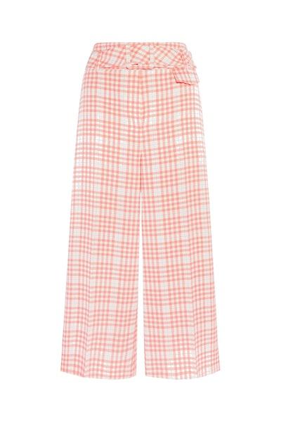 F&F Multi Check Printed Culottes