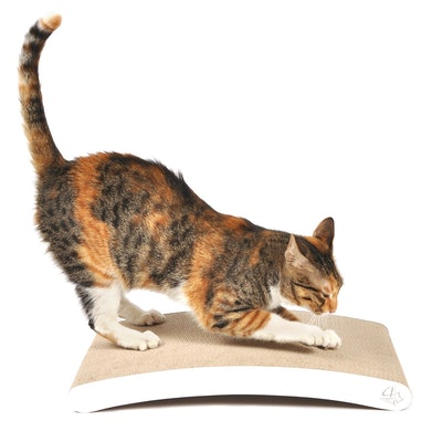 4CLAWS Curve Scratching Pad