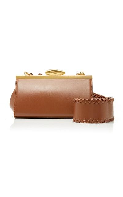 Pebble Mini Leather Shoulder Bag